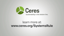 Ceres' New Analysis of Large Global Companies Links Sustainability Performance with Strong Governance Systems
