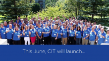 CIT Kicks Off Nationwide Volunteer Month