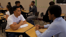 AEG and BET Team Up to Mentor At-Risk Students for Annual BET Experience Service Day