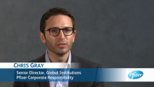 Aligning Pfizer's Business with the United Nations Sustainable Development Goals