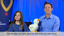 VIDEO | Josh and Chloe - My Special Aflac Duck™ and CMN Hospitals