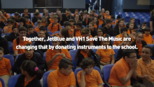 JetBlue Donates Instruments to A Miami Middle School After a Decade Without Music
