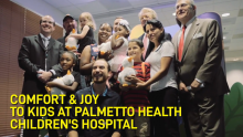 VIDEO | My Special Aflac Duck​™ Brings Smiles and Laughter to Children's Hospital