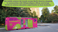 Curiosity Cube™ Mobile Science Lab Completes 2018 Tour