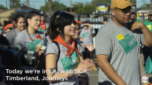 Timberland, Journeys, and the Student Conservation Association Take Urban Greening to Los Angeles