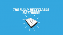A Fully Recyclable Mattress by Auping and DSM-Niaga