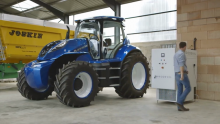 New Holland Agriculture Works to Combat Climate Change By Developing Methane Powered Concept Tractor