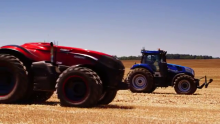 CNH Industrial's Innovation Team Develops Case IH Autonomous Concept Tractor to Make Farming More Sustainable