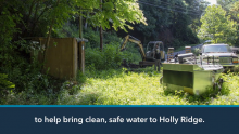 Xylem Watermark Partners with the Water Well Trust to Bring Clean Water to 24 Households in Holly Ridge, NC