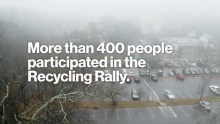 Video: Verizon & NFL Super Bowl LIII: Recycling Rally at Zoo Atlanta 2019