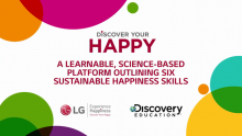 """Discovery Education and LG Electronics USA Celebrate """"International Day of Happiness"""" Discussing Science-Based Practices to Achieve Sustainable Happiness"""