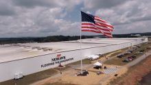 VIDEO | Mohawk Commemorates July 4th and Honors Employees with Georgia's Largest American Flag