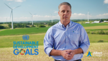 Welcome to the 2019 Alliant Energy Corporate Sustainability Report from John Larsen
