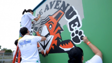 """AEG Spreads Cheer With Playworks to Host a """"Day of Play"""" and Beautification Projects at Towne Avenue Elementary School in Carson, Calif. for Annual Service Day"""