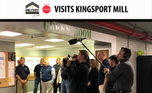 """""""Military Makeover"""" Series From Lifetime TV Visits Kingsport Mill"""