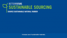 Goodyear Better Future: Sustainable Sourcing