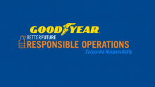 Goodyear Better Future: Responsible Operations