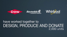 Whirlpool Corporation, Dow, and Reynolds Consumer Products Collaborate to Manufacture and Donate Much-Needed Respirators Through WIN Health Labs, LLC