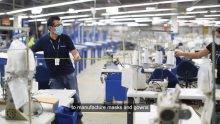 [VIDEO] Gildan's Health & Safety Measures on the Factory Floor During COVID-19
