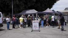 LA Galaxy and East Side Riders Bike Club Come Together to Serve More Than 1,000 Meals in Watts, Los Angeles