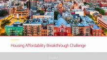 Winners of Nationwide Housing Affordability Breakthrough Challenge Named