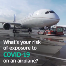 Department of Defense Study Finds Risk of Exposure To COVID-19 Is Almost Non-Existent on United Flights