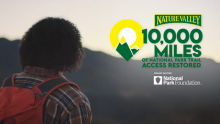 """Nature Valley Collaborates With Daveed Diggs to Remake """"I'm Gonna Be (500 Miles)"""" to Celebrate Restoring Access to 10,000 Miles of National Park Trails"""