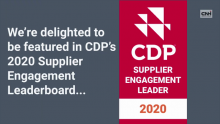 CNH Industrial Is Recognized by the CDP As a Supplier Engagement Leader