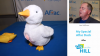 My Special Aflac Duck Featured at CES on the Hill 2018