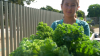 Zinnia's #GardenStory: Sharing Her Love of Fresh Food With Those in Need