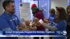 United Employees Prepare for a Holiday Tradition