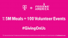 T-Mobile to Deliver up to 5M Meals for Giving Tuesday by Inviting Everyone to Do Their #GivingOnUs