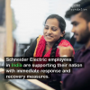 Watch: Schneider Electric Employees in India Support Their Country's COVID Relief Effort
