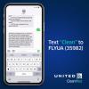 Passengers Can Now Text Cleaning and Safety Questions Directly to United Airlines