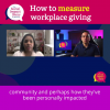 Best Practices for Workplace Giving Campaigns