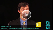 Ethical Sourcing Forum 2011 - An Interview with Tom Ewart, Managing Director at Network for Business Sustainability