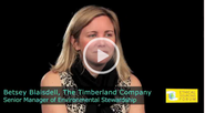 Ethical Sourcing Forum 2011 - An Interview with Betsey Blaisdell, Senior Manager of Environment Stewardship at The Timberland Company