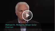 2011 Ceres Conference - An Interview with Michael McGuire, Chairman of Wiser Solar