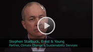 2011 Ceres Conference - An Interview with Stephen Starbuck, Partner, Climate Change & Sustainability Services of Ernst & Young
