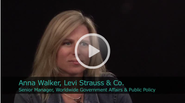 2011 Ceres Conference - An Interview with Anna Walker, Senior Manager, Worldwide Government Affairs & Public Policy of Levi Strauss & Co