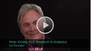 2011 Ceres Conference - An Interview with Peter Kinder, Co-founder of KLD Research & Analytics