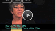 2011 Ceres Conference - An Interview with Kathrin Winkler, Vice President, Chief Sustainability Officer of EMC