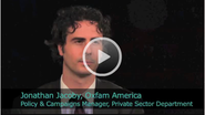 2011 Ceres Conference - An Interview with Jonathan Jacoby, Policy & Campaigns Manager, Private Sector Development of Oxfam America