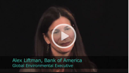 2011 Ceres Conference - An Interview with Alex Liftman, Global Environmental Executive of Bank of America