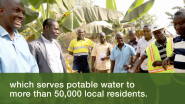 Newmont Case Study: Creating Potable Water Sources for Generations to Come