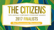 Congrats to the Best Environmental Stewardship Finalists!