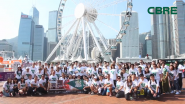 CBRE Hong Kong's Walk For A Wish 2017