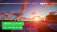 VIDEO: Accelerating Schneider Electric's Transition to Carbon Neutrality