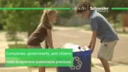 Schneider Electric VIDEO: A Meaningful Purpose for Today and Tomorrow: The Impact of Sustainable Business Development