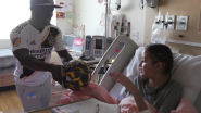 LA Galaxy Visit Children's Hospital Los Angeles